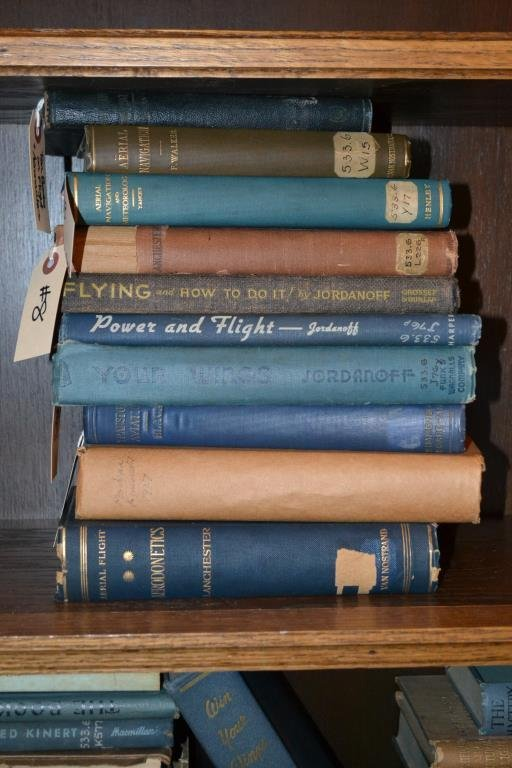 Ten Early Navigation and Flight Books
