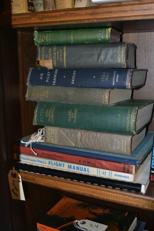 Early Books on Flight and Flight Training