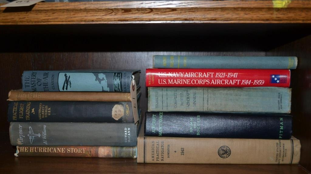 Early to Midcentury Books on Aircraft Navigation a