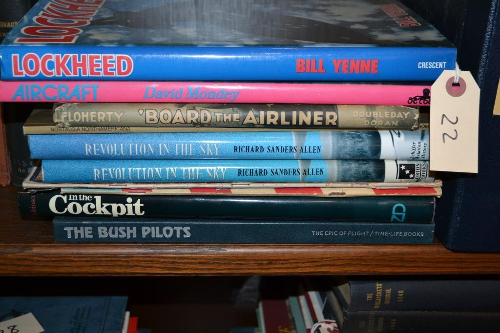 20th C Books on Flight and Air Races