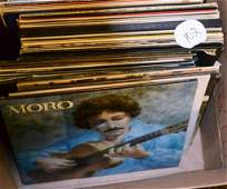 Large Collection of Vinyl Records from the 1960's