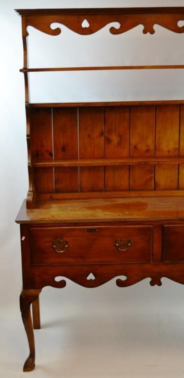 Queen Anne Style Bisset And Brunton Welsh Cupboard - 2