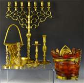 Grouping of Brass Items