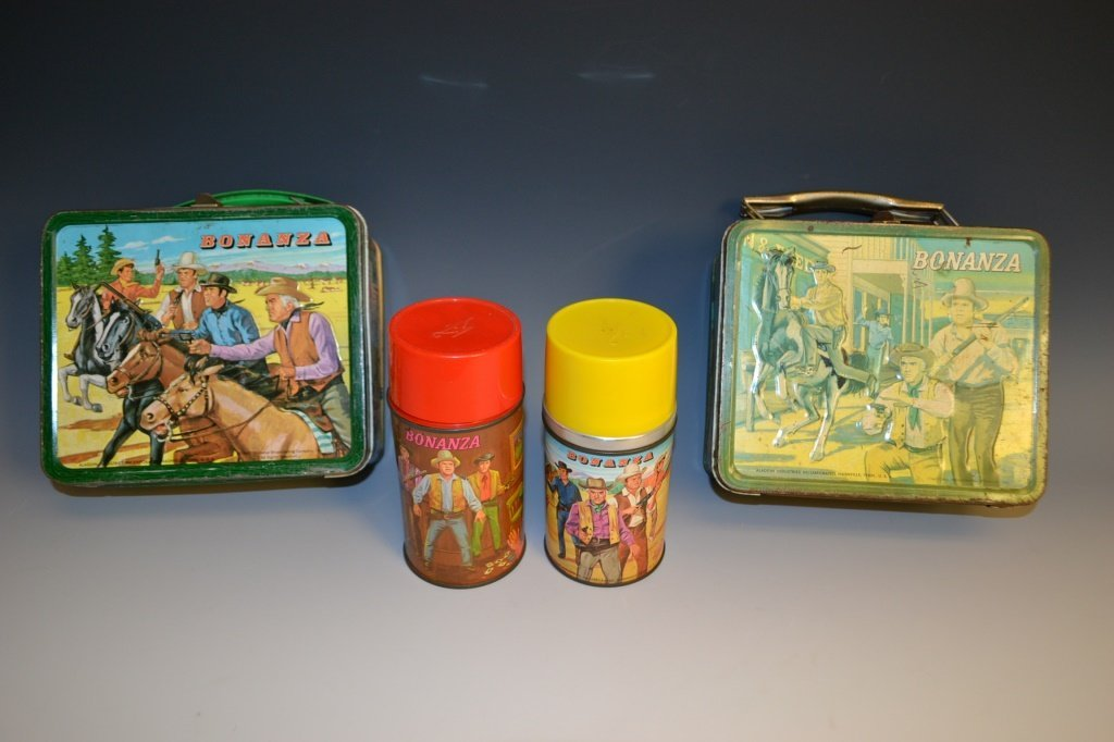 Two Bonanza Lunch Boxes