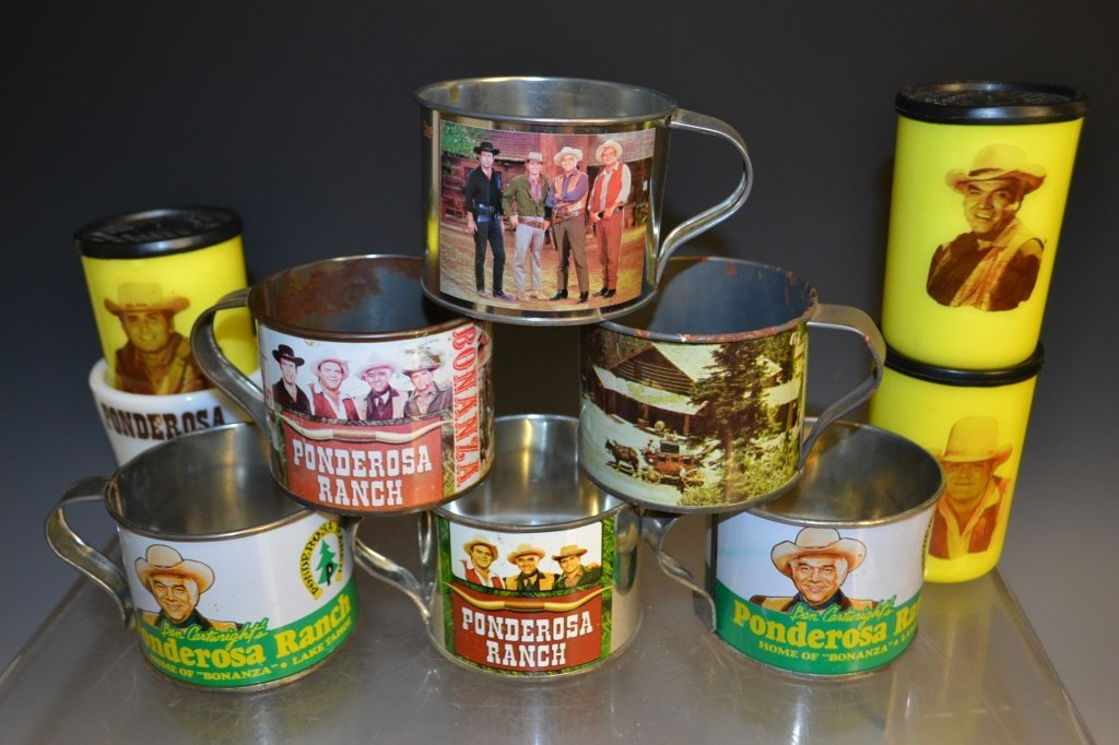 Bonanza Tin Cup Collection
