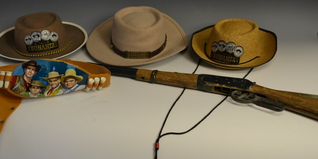 Bonanza Child's Costume and Play Lot