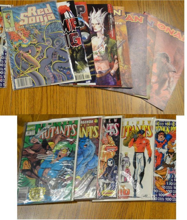 Marvel Comics including Conan and Red Sonja