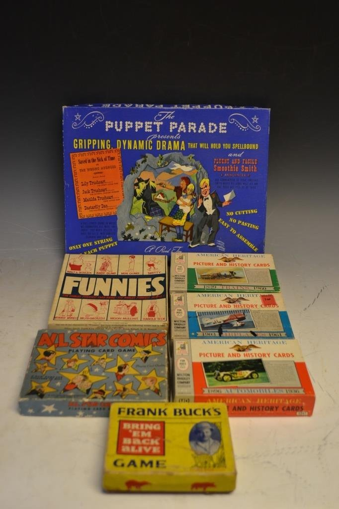 Early Games and Amusements