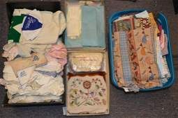 Grouping of Early 20th C Childrens Cloth and Embr
