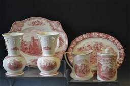 English Red Transfer Ware