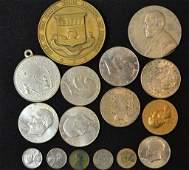 1928 Peace Dollar 1921 Morgan Silver Dollar