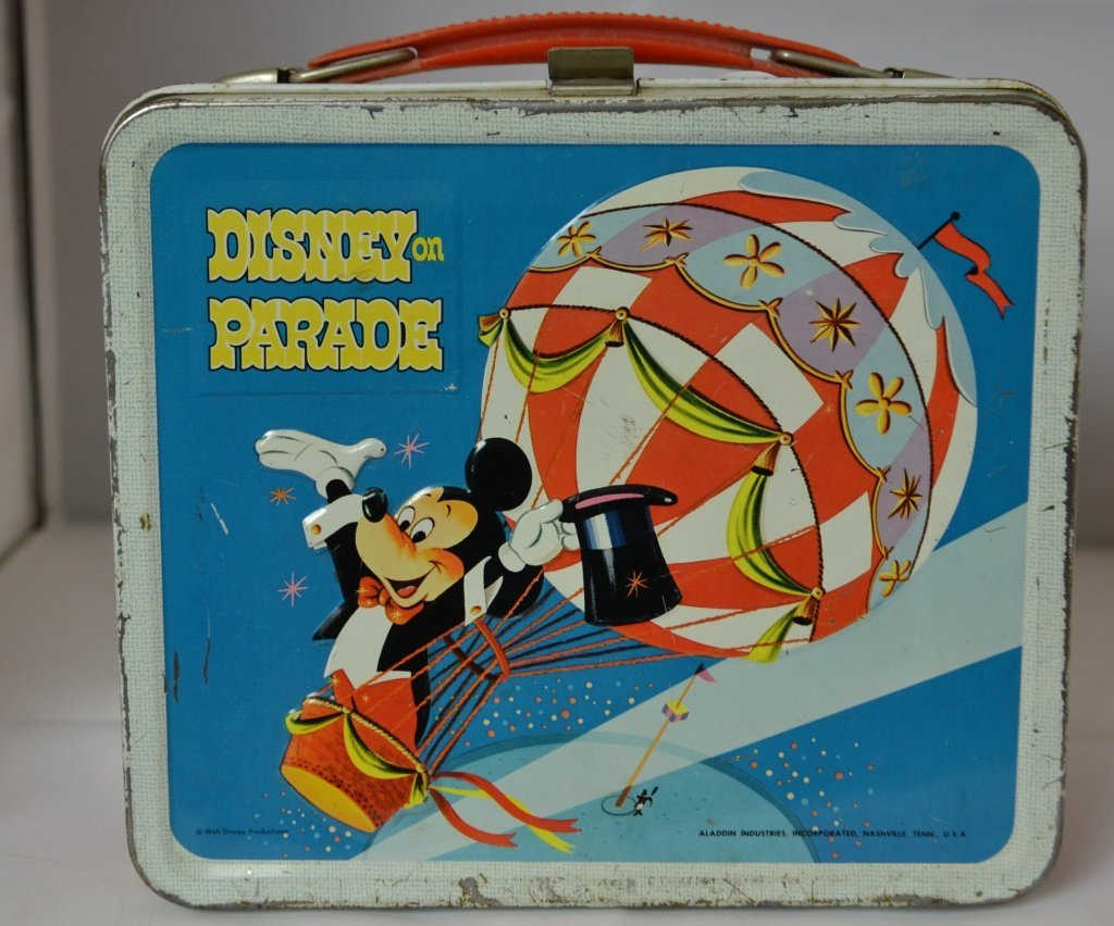 Disney on Parade Lunch Box with Thermos