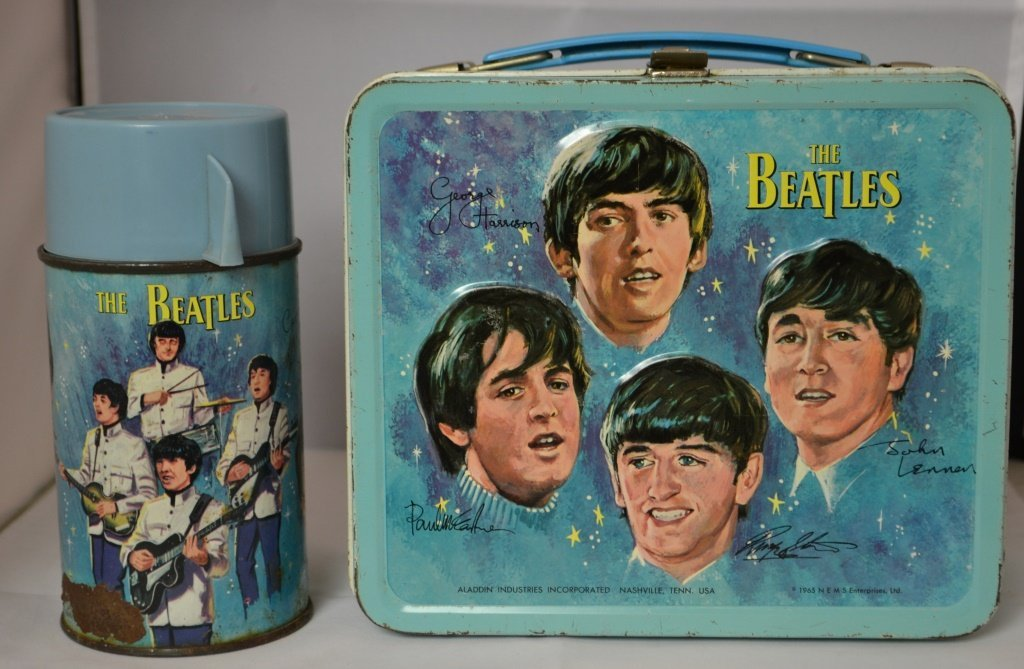The Beetles Lunch Box with Thermos