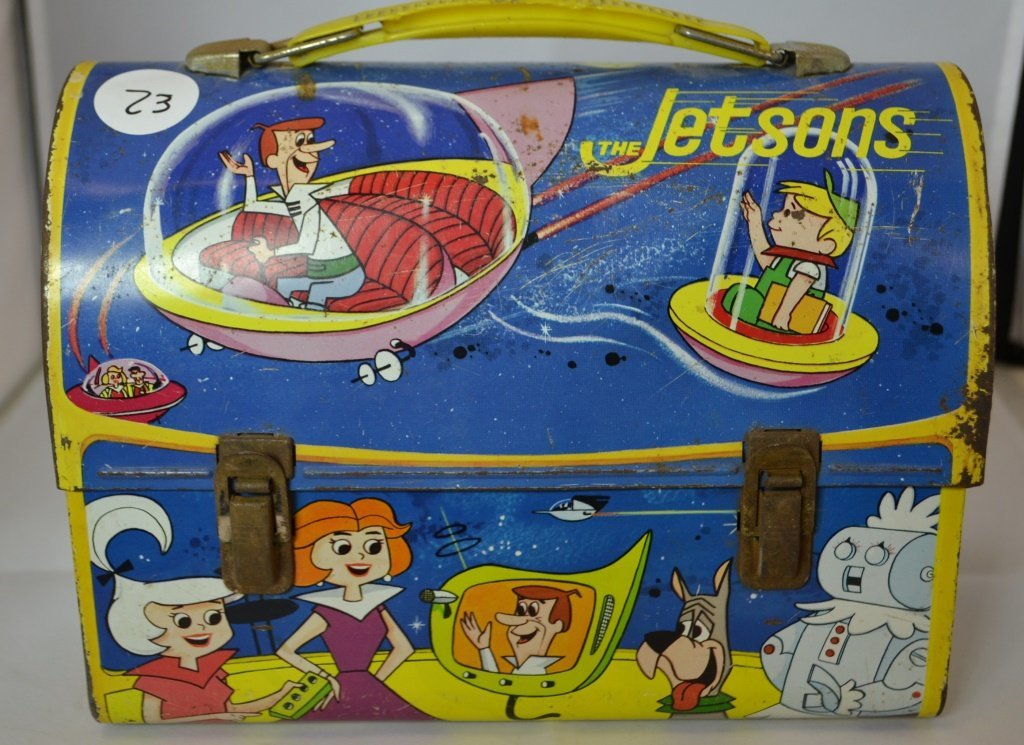The Jetsons Lunch Box With Thermos