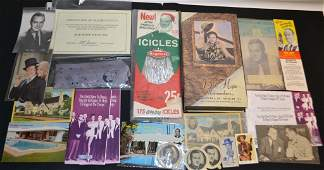 Collection Of Bob Hope Items