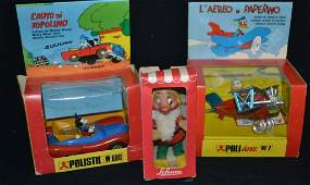 Grouping Of Early Continental Disney Items