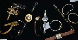 Grouping of Lady's Wrist watches