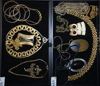 Two Trays Collection of Costume Jewelry