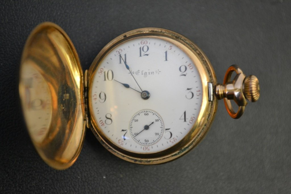 Ladies Elgin 14k Gold Pocket Watch