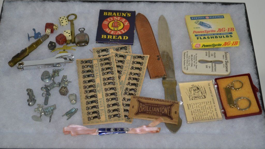 Collection of Early Advertising Items