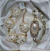 14K Watch  GF Bracelet