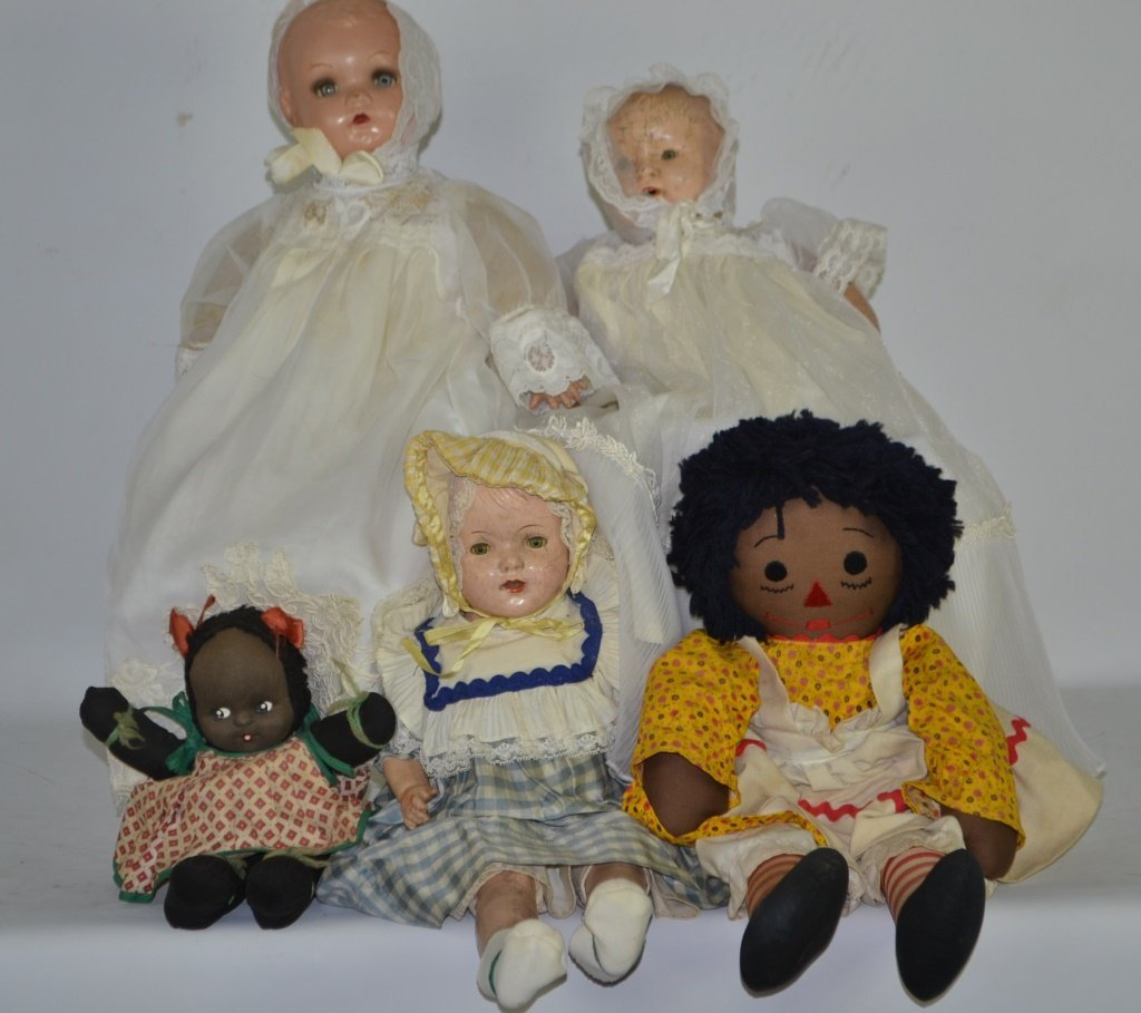 Collection of Vintage Plus and Other Dolls