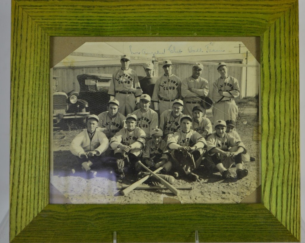 L - A - Town Baseball Club Team Photo c.1920's