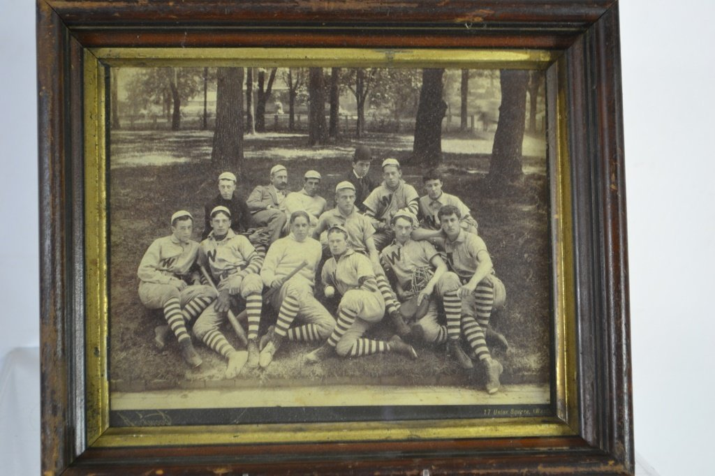 19th C WestMinister Baseball Club Team Photo