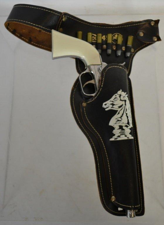 Hubley Colt .45 Cap Gun with Holster