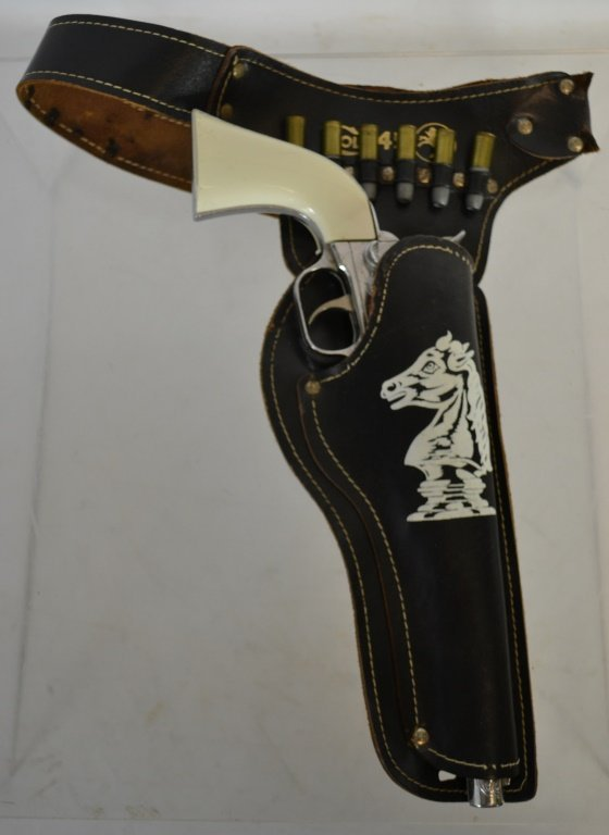 Hubley Colt .45 Cap Gun with Holster