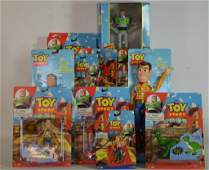 Large Lot Of Toy Story Items