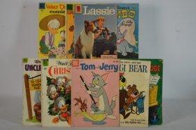 Ten Misc. Dell Comics