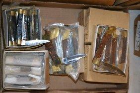 Large Grouping Of Various Knives & Pocket Knives