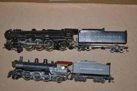 Ho Painted Brass Japanese Steam Engine & Tender