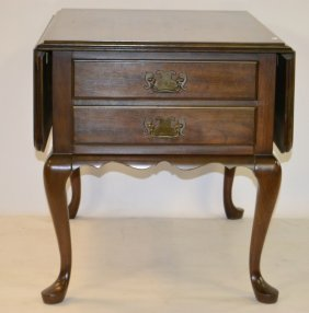 Pennsylvania House Two Drawer Accent Table