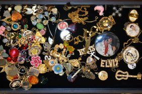 Grouping Of Novelty Costume Jewelry