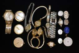 Mens and Ladies Wrist Watches and Movements