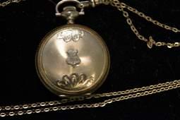 Elgin Ladies Hunt Case Pocket Watch