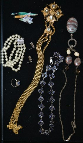 Misc. Grouping Of Jewelry