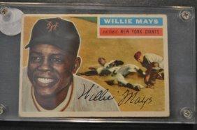1956 Topps Willie Mays # 130 Baseball Card