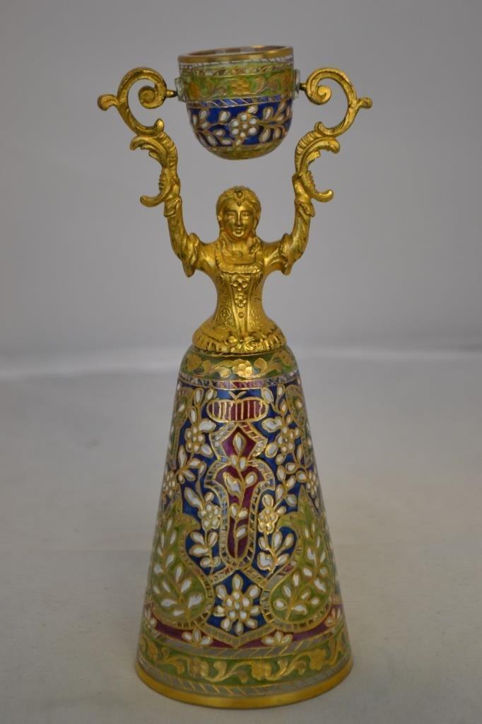 """7"""" Fritz Heckert Wedding Cup c. 1880"""