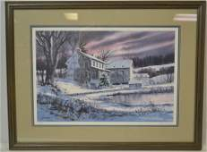 Thomas Newnam (American, Born 1946) Signed Print