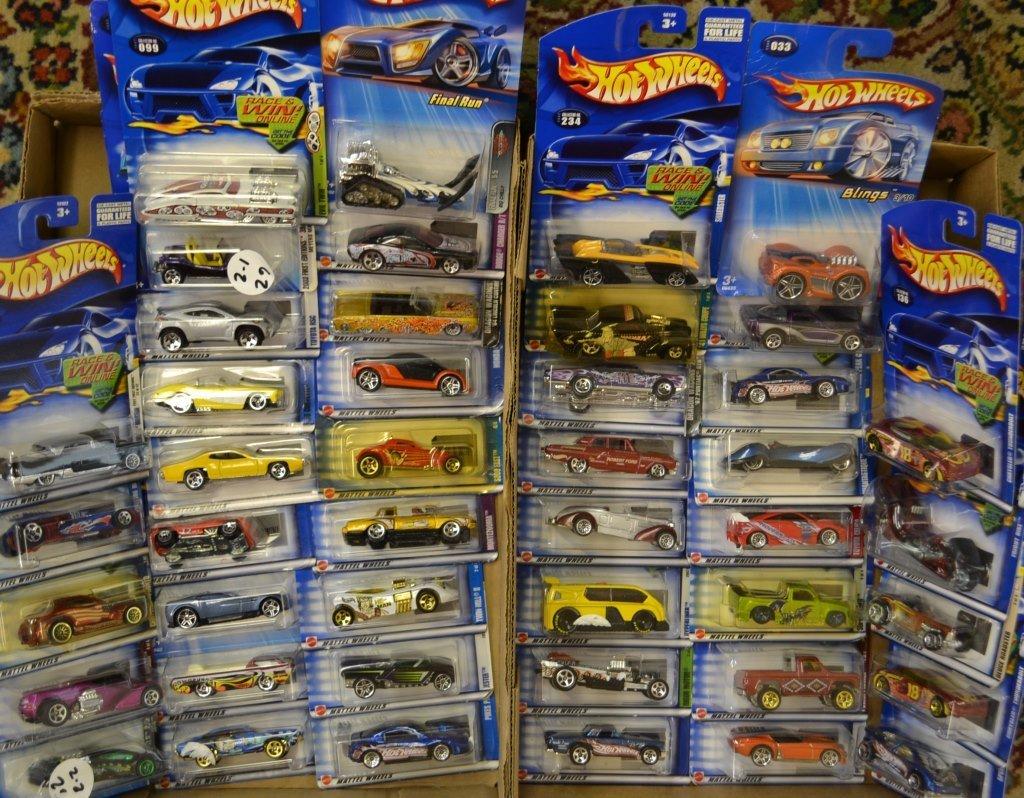 44 Hot Wheels Die Cast Cars