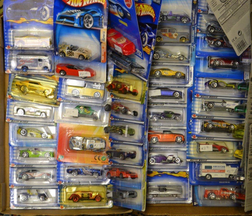 50 Hot Wheels Die Cast Cars