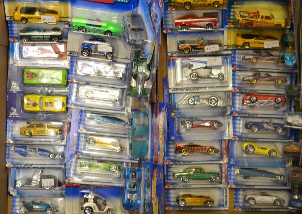 Approx 45 Hot Wheels Die Cast Cars