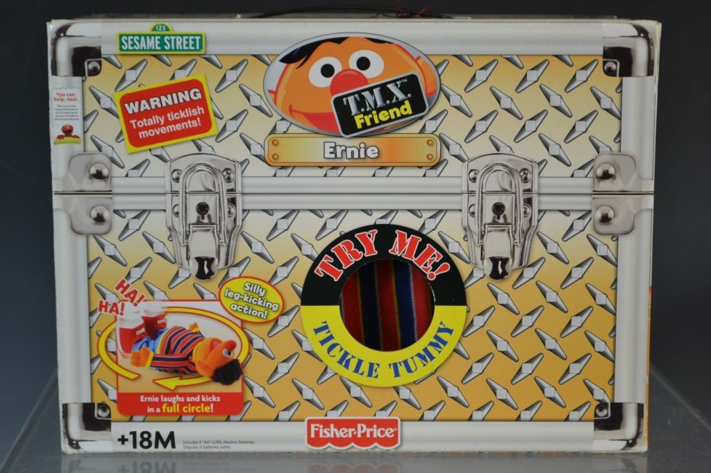 Fisher Price TMX Friend Tickle Me Ernie MIB