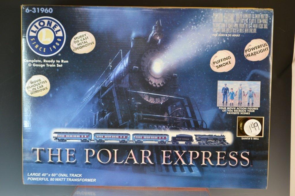Lionel Train Set Polar Express 6-31960 NIB