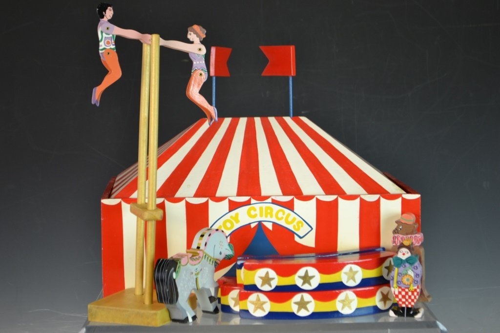 Srilanka Painted Toy Circus