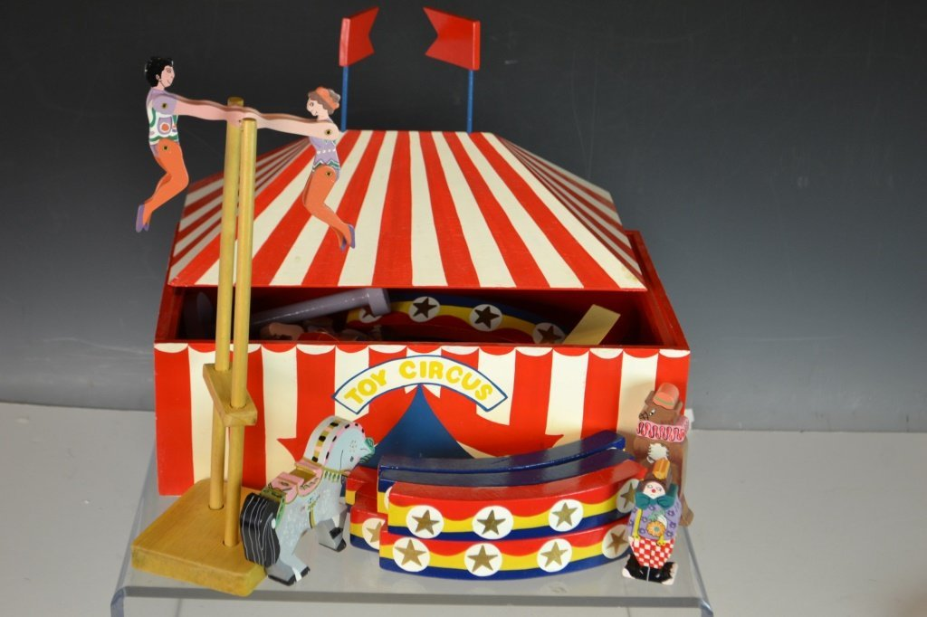 Srilanka Painted Toy Circus - 2