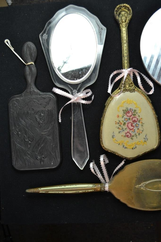 Collection Of Ten Vintage Hand Mirrors - 2